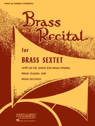 - Brass Recital - Trompette Bb 1 - Partition - di-arezzo.fr