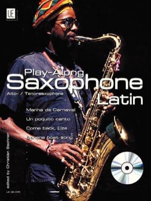 Play-Along Saxophone - Latin Partition Saxophone - laflutedepan