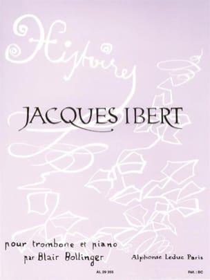 Jacques Ibert - stories - Sheet Music - di-arezzo.co.uk