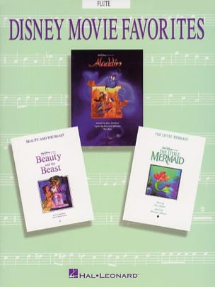 Disney Movie Favorites - DISNEY - Partition - laflutedepan.com