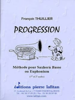 François Thuillier - progression - Sheet Music - di-arezzo.co.uk