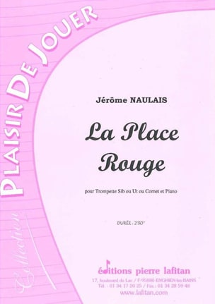 Jérôme Naulais - The Red place - Sheet Music - di-arezzo.co.uk