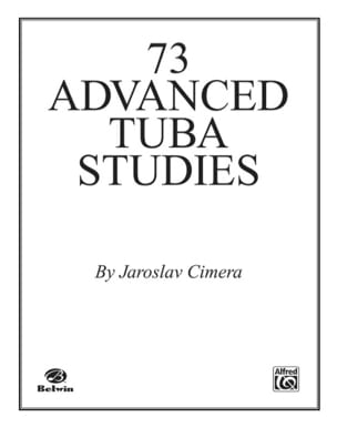 Jaroslav Cimera - 73 Advanced Tuba Studies - Sheet Music - di-arezzo.co.uk