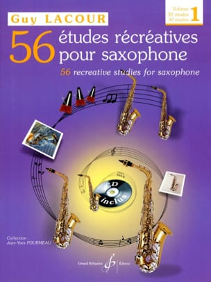 Guy Lacour - 56 Recreational Studies Volume 1 - 30 Studies - Sheet Music - di-arezzo.com