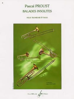 Pascal Proust - Unusual walks - Sheet Music - di-arezzo.co.uk