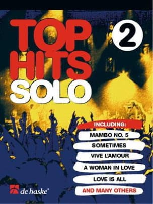 Top Hits Solo Volume 2 Partition Clarinette - laflutedepan