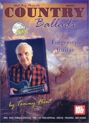 Tommy Flint - Country Ballads For Fingerstyle Guitar - Sheet Music - di-arezzo.co.uk