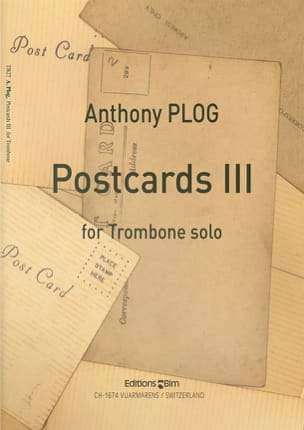 Anthony Plog - Postcards 3 - Partition - di-arezzo.fr