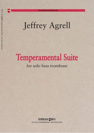 Temperamental Suite - Jeffrey Agrell - Partition - laflutedepan.com