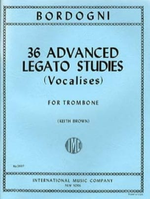 36 Advanced Legato Studies Vocalises Marco Bordogni laflutedepan
