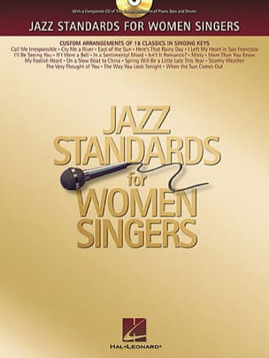 Jazz Standards For Women Singers - Partition - di-arezzo.fr