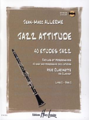 Jean-Marc Allerme - Jazz Attitude Livre 2 - Partition - di-arezzo.fr