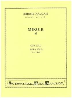 Jérôme Naulais - Miroir - Partition - di-arezzo.fr