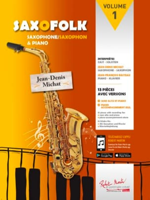 Saxofolk Volume 1 - Sheet Music - di-arezzo.com