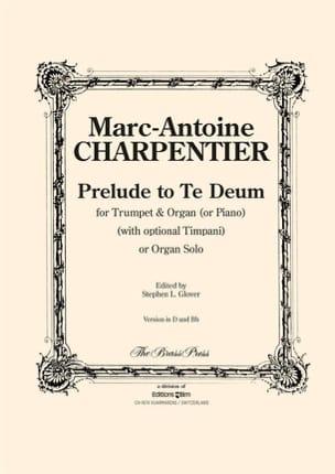 Marc-Antoine Charpentier - Prelude To Te Deum - Partition - di-arezzo.fr