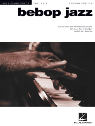 Jazz Piano Solos Series Volume 4 - Bebop Jazz Partition laflutedepan