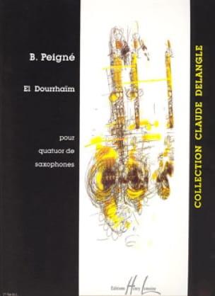 El Dourrhaïm Bertrand Peigné Partition Saxophone - laflutedepan