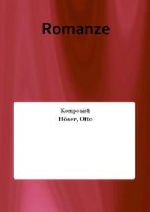 Otto Höser - Romanze - Partition - di-arezzo.fr