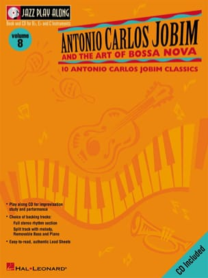 Jazz play-along volume 8 - A.C. Jobim And The Art Of Bossa Nova laflutedepan