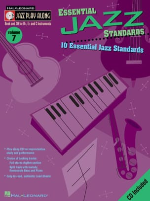 Jazz play-along volume 7 - Essential Jazz Standards laflutedepan