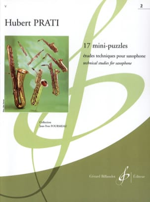 17 Mini-Puzzles Volume 2 Hubert Prati Partition laflutedepan