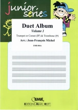 Duett Album Volume 1 - Junior Series Partition laflutedepan