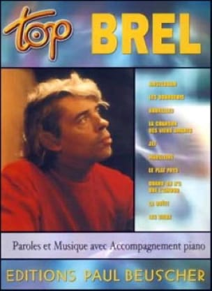 Jacques Brel - Top Brel - Sheet Music - di-arezzo.co.uk