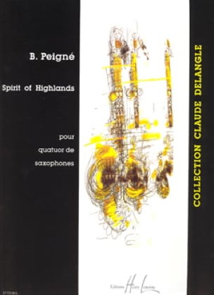Spirit Of Highlands Bertrand Peigné Partition Saxophone - laflutedepan
