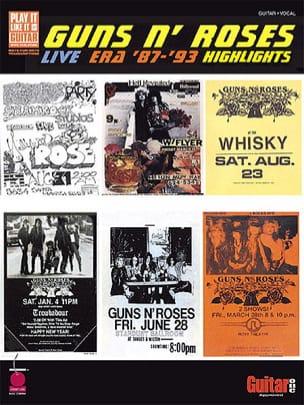 Guns N' Roses - Live Era '87 -'93 Highlights - Sheet Music - di-arezzo.com