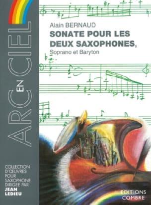 Sonate Pour les Deux Saxophones Alain Bernaud Partition laflutedepan