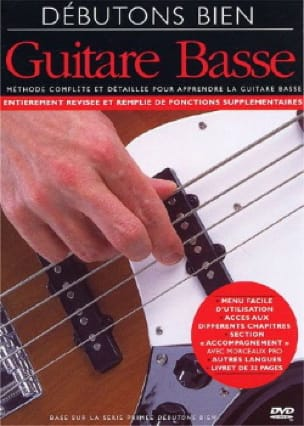 - DVD - Comencemos Good Bass Guitar - Partitura - di-arezzo.es