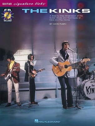 The Kinks - Guitar Signature Licks - Partition - di-arezzo.fr