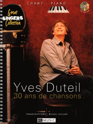 Yves Duteil - 30 Years of Songs - Sheet Music - di-arezzo.co.uk