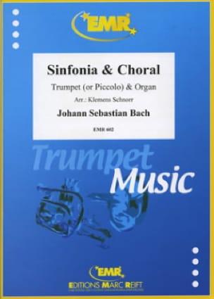 Johann Sebastian Bach - Sinfonia & Choral - Partition - di-arezzo.fr