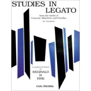 Studies In Legato Partition Trombone - laflutedepan