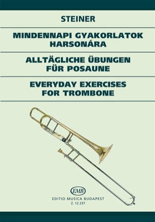 Ferenc Steiner - Everyday Exercices For Trombone - Partition - di-arezzo.fr