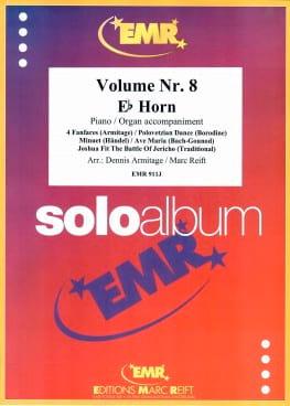 Solo Album N° 08 - Partition - Cor - laflutedepan.com