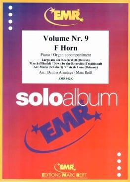 Solo Album N° 9 - Partition - Cor - laflutedepan.com