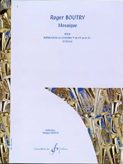 Roger Boutry - Mosaïque - Partition - di-arezzo.fr