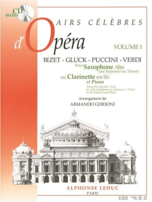 Famous Airs Of Opera Volume 1 - Sheet Music - di-arezzo.co.uk