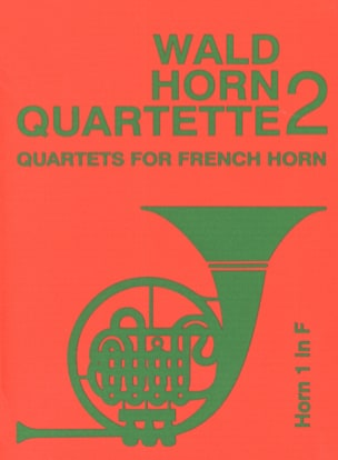 - Wald horn quartet volume 2 - Sheet Music - di-arezzo.com
