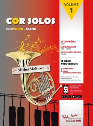 Cor solos volume 1 - Partition - di-arezzo.fr