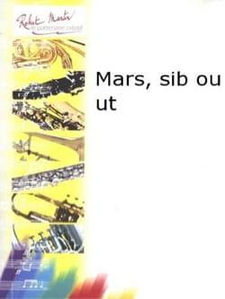 Désiré Dondeyne - Mars - Partition - di-arezzo.fr