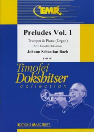 Préludes 1, 2, 3, 4 Volume 1 - BACH - Partition - laflutedepan.com