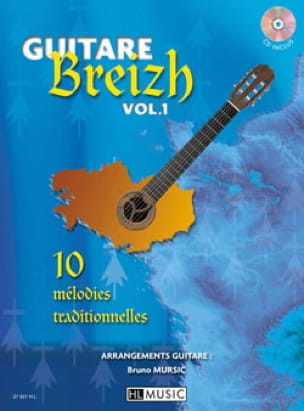 - Guitare Breizh Volume 1 - Partition - di-arezzo.fr