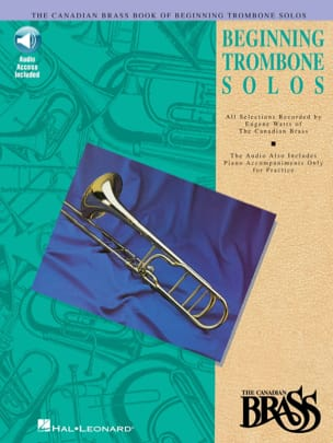 Beginning Trombone Solos - Partition - di-arezzo.co.uk