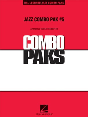 Jazz Combo Pak # 5 Partition ENSEMBLES - laflutedepan