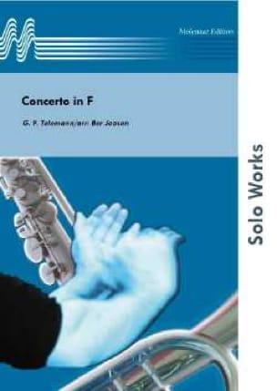 Concerto In F TELEMANN Partition Saxophone - laflutedepan