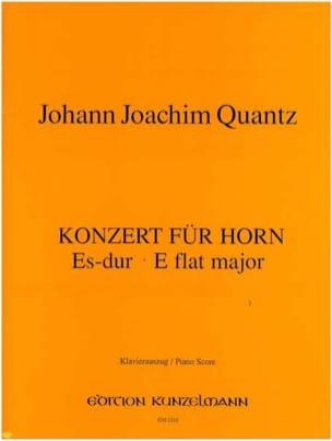 Johann J Quantz - Konzert Für Horn Es-Dur - Partition - di-arezzo.fr
