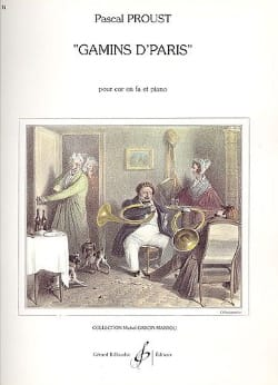 Pascal Proust - Gamins of Paris - Sheet Music - di-arezzo.com
